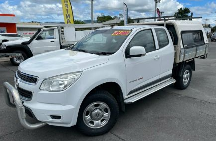 Used 2015 HOLDEN COLORADO RG MY15 LS Cab Chassis Space Cab 4dr Spts Auto 6sp 4x4 1282kg 2.8DT