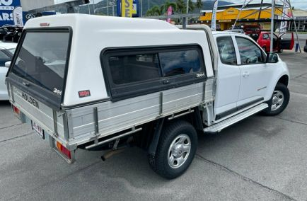2015 HOLDEN COLORADO LS  RG Turbo Extended Cab Chassis Utility