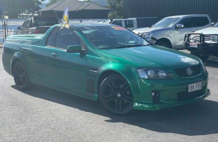 Used 2010 HOLDEN UTE VE Utility 2dr SV6 Extended Cab Man 6sp 3.6i