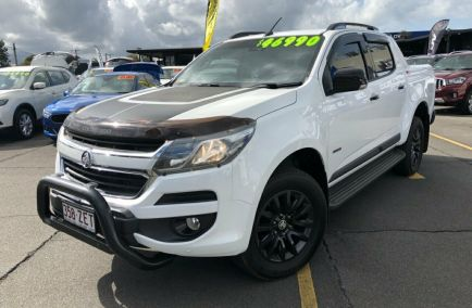 Used 2016 HOLDEN COLORADO RG Utility 4dr Z71 Pickup Crew Cab Man 6sp 4x4 2.8DT 1000kg