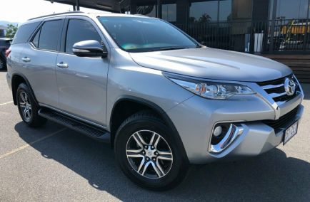 Used 2017 TOYOTA FORTUNER GUN156R Wagon 5dr GXL 7st Auto 6sp 4x4 2.8DT