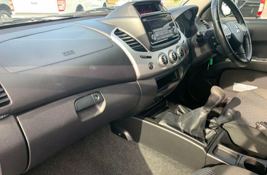 2014 MITSUBISHI TRITON GLX-R  MN Turbo UTILITY Dual Cab