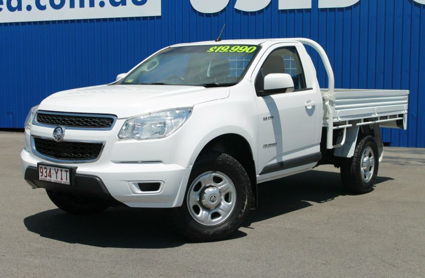 2012 HOLDEN COLORADO LX  RG Turbo Single Cab Chassis Utility