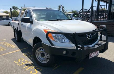 Used 2014 MAZDA BT-50 UP0YD1 Cab Chassis 2dr XT Single Cab Man 6sp 4x2 2.2DT 1306kg