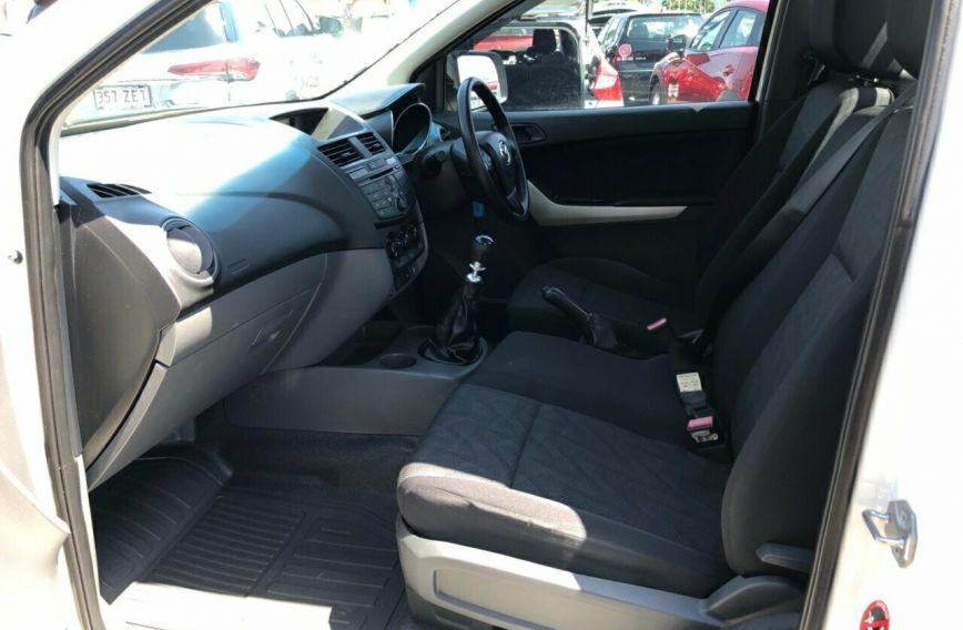 2014 MAZDA BT-50 XT  UP0YD1 Turbo CAB CHASSIS Single Cab