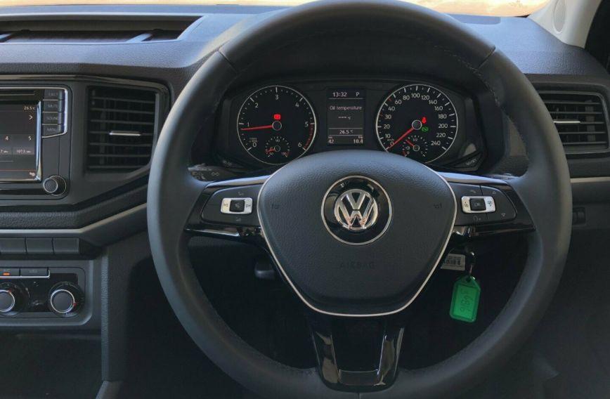 2018 VOLKSWAGEN AMAROK TDI550 Core 2H Turbo UTILITY Dual Cab