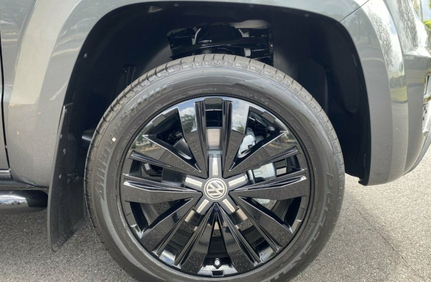 2019 VOLKSWAGEN AMAROK TDI580 Highline Black 2H Turbo UTILITY Dual Cab