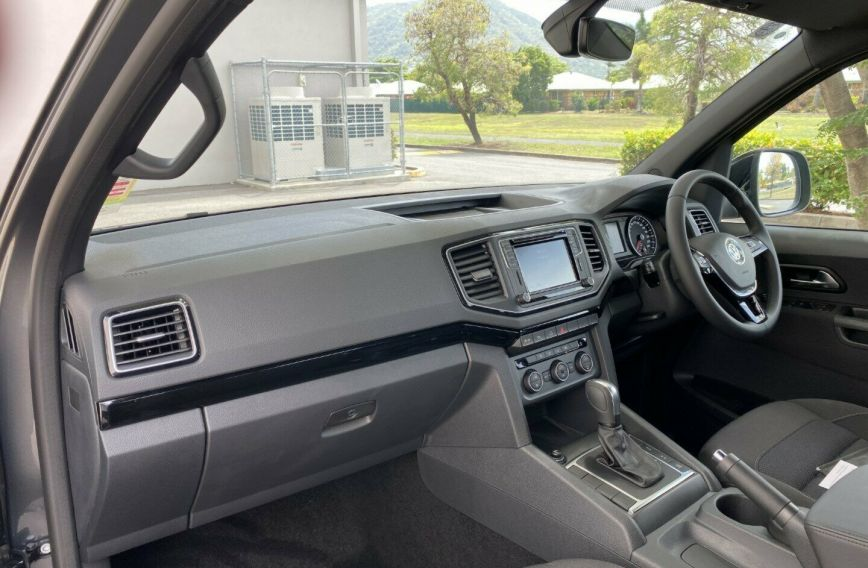 2019 VOLKSWAGEN AMAROK TDI580 Highline Black 2H Turbo Dual Cab Utility