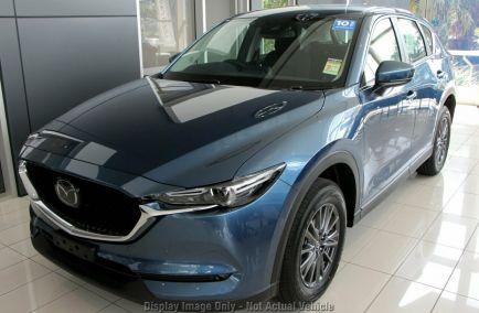 New 2018 MAZDA CX-5 KF2W7A Wagon 5dr Maxx Sport SKYACTIV-Drive 6sp FWD 2.0i 466kg