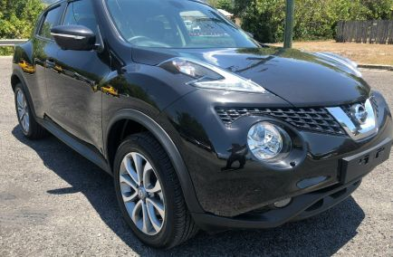 Used 2017 NISSAN JUKE F15 Series 2 Hatchback 5dr Ti-S X-tronic 1sp AWD 1.6T