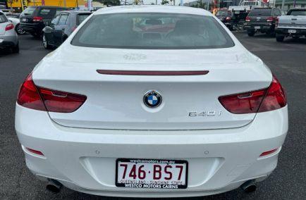 2011 BMW 6 SERIES 640i  F13 Turbo Coupe