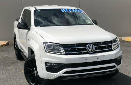New 2019 VOLKSWAGEN AMAROK 2H Utility 4dr TDI580 Highline Black Dual Cab Auto 8sp 4MOTION Perm 3.0DT 871kg