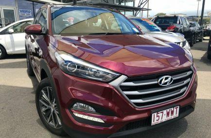 Used 2016 HYUNDAI TUCSON TL Wagon 5dr Active X Spts Auto 6sp 2WD 2.0i 506kg