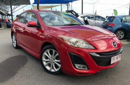 Used 2009 MAZDA 3 BL10L1 Sedan 4dr SP25 Man 6sp 2.5i