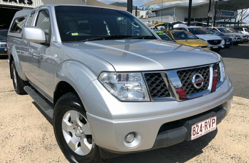 2011 NISSAN NAVARA ST-X  D40 Turbo UTILITY Extended Cab