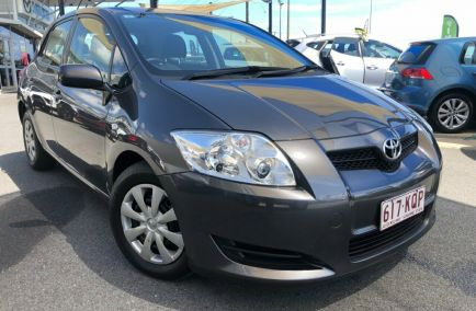 Used 2007 TOYOTA COROLLA ZZE122R 5Y Hatchback 5dr Ascent Auto 4sp 1.8i