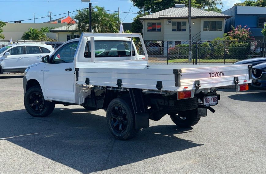 2015 TOYOTA HILUX Workmate  GUN125R Turbo CAB CHASSIS Single Cab