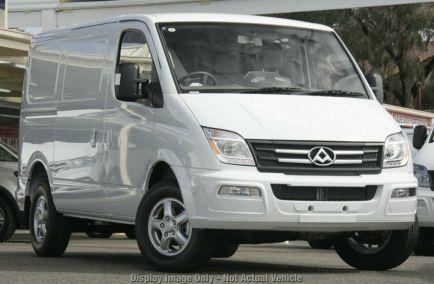 New 2018 LDV V80 Van 5dr Low Roof SWB Man 6sp 2.5DT 1204kg