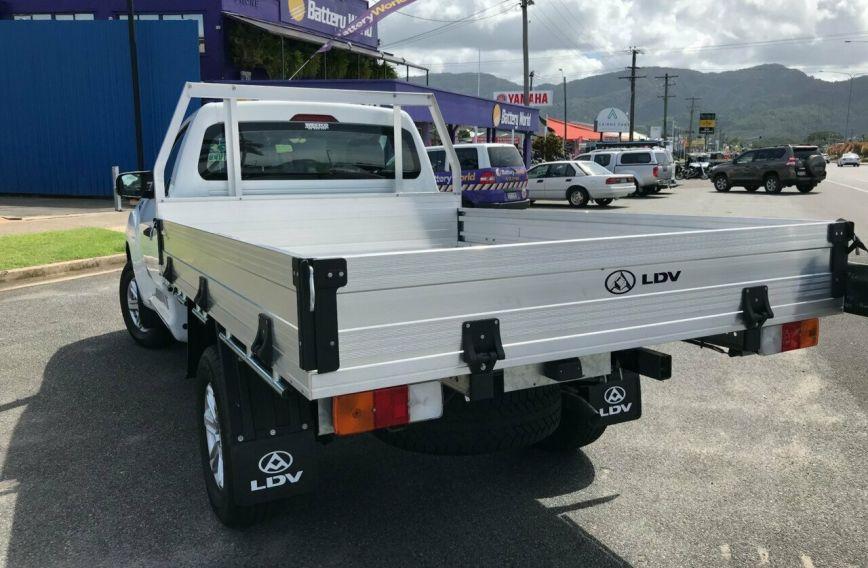 2018 LDV T60 PRO  SK8C Turbo Single Cab Chassis Utility