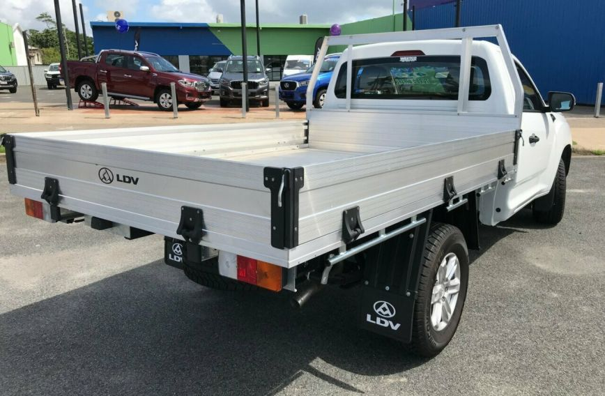 2018 LDV T60 PRO  SK8C Turbo CAB CHASSIS Single Cab