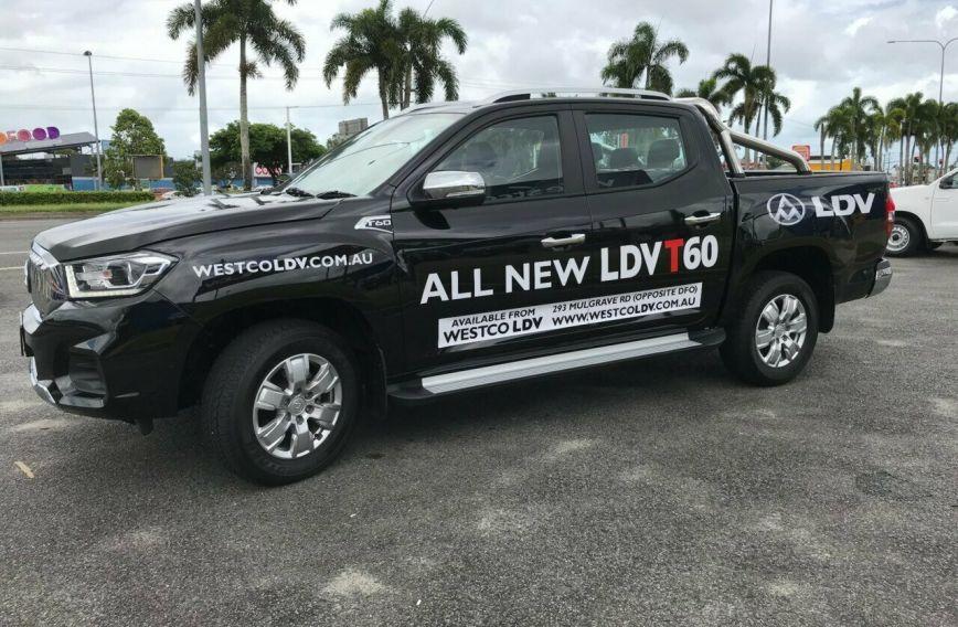 2018 LDV T60 LUXE  SK8C Turbo UTILITY Dual Cab