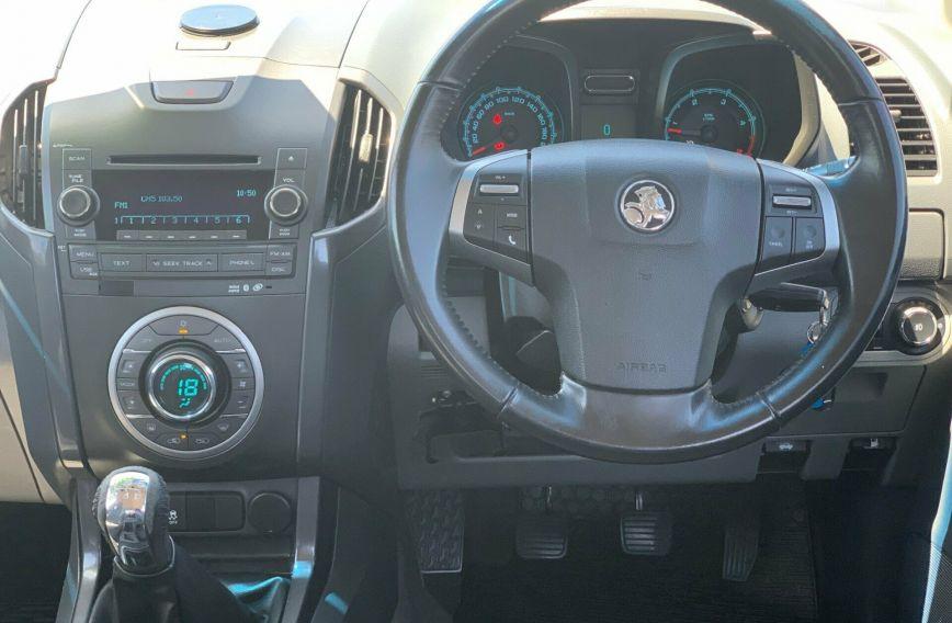 2012 HOLDEN COLORADO LTZ  RG Turbo Dual Cab Utility
