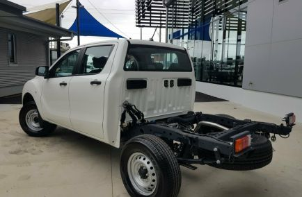 2019 MAZDA BT-50 XT Hi-Rider UR0YG1 Turbo CAB CHASSIS Dual Cab