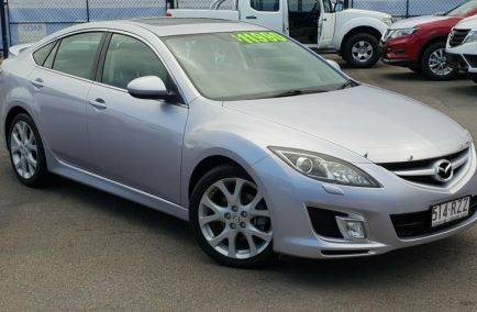 Used 2008 MAZDA 6 GH1051 Hatchback 5dr Luxury Spts Auto 5sp 2.5i