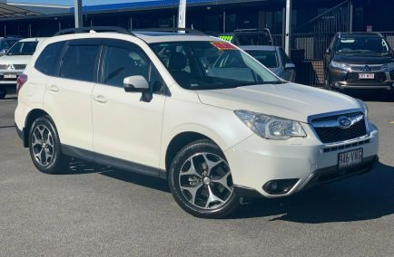 Used 2015 SUBARU FORESTER S4 Wagon 5dr 2.0D-S CVT 7sp AWD 2.0DT