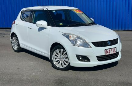 Used 2011 SUZUKI SWIFT FZ Hatchback 5dr GLX Man 5sp 1.4i 455kg