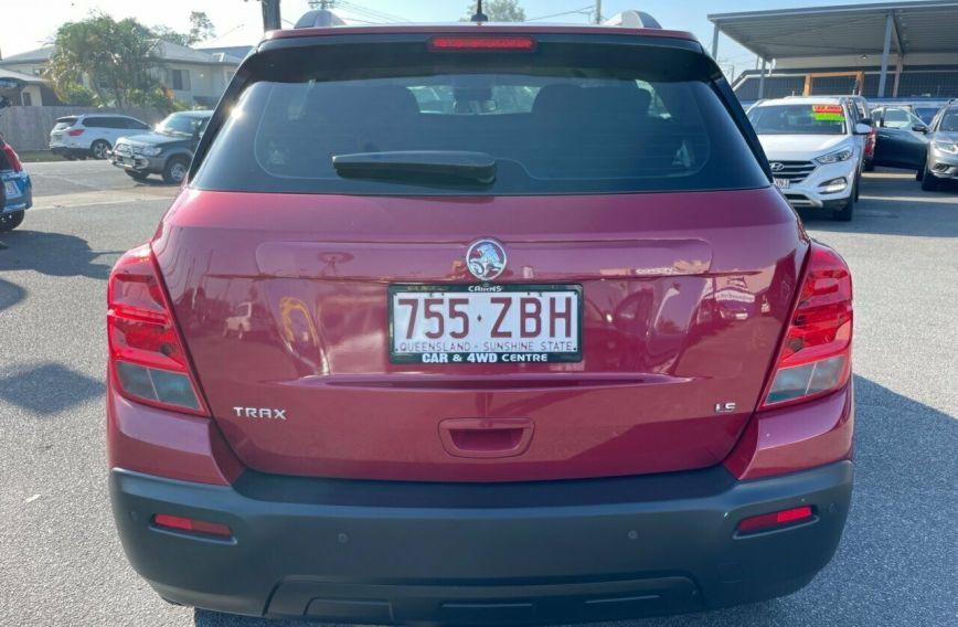 2014 HOLDEN TRAX LS  TJ  Wagon