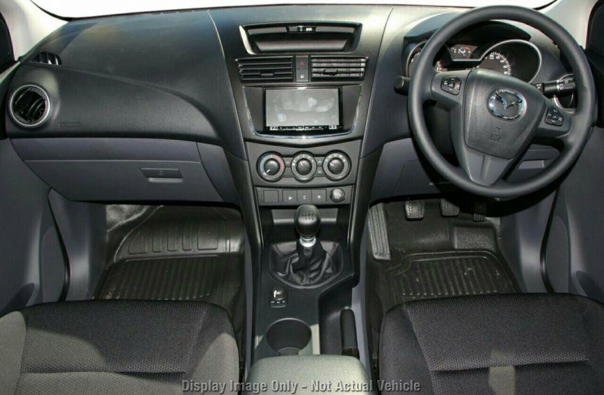 2018 MAZDA BT-50 XT  UR0YG1 Turbo CAB CHASSIS Dual Cab