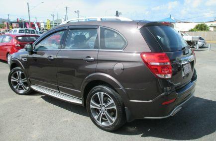 Used 2016 HOLDEN CAPTIVA CG MY17 LTZ Wagon 7st 5dr Spts Auto 6sp AWD 2.2DT
