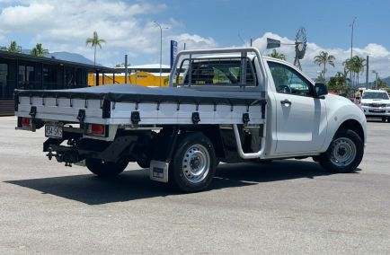 2012 MAZDA BT-50 XT  UP0YD1 Turbo Single Cab Chassis Utility