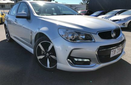 Used 2017 HOLDEN COMMODORE VF II Sedan 4dr SV6 Spts Auto 6sp 3.6i