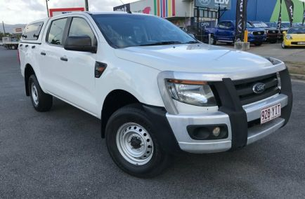 Used 2014 FORD RANGER PX Utility 4dr XL Double Cab Man 6sp 4x4 3.2DT 1132kg