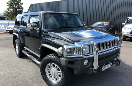 Used 2007 HUMMER H3 Wagon 5dr Luxury Auto 4sp 4x4 3.7i