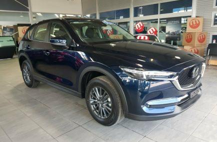 New 2019 MAZDA CX-5 KF4WLA Wagon 5dr Maxx Sport SKYACTIV-Drive 6sp i-ACTIV AWD 2.5i 499kg