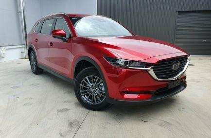 Demo 2020 MAZDA CX-8 KG2WLA Sport Wagon 7st 5dr SKYACTIV-Drive 6sp FWD 578kg 2.5i