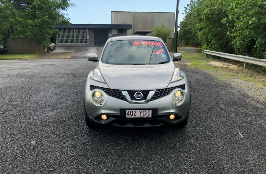 2018 NISSAN JUKE Ti-S  F15 Series 2 Turbo HATCHBACK