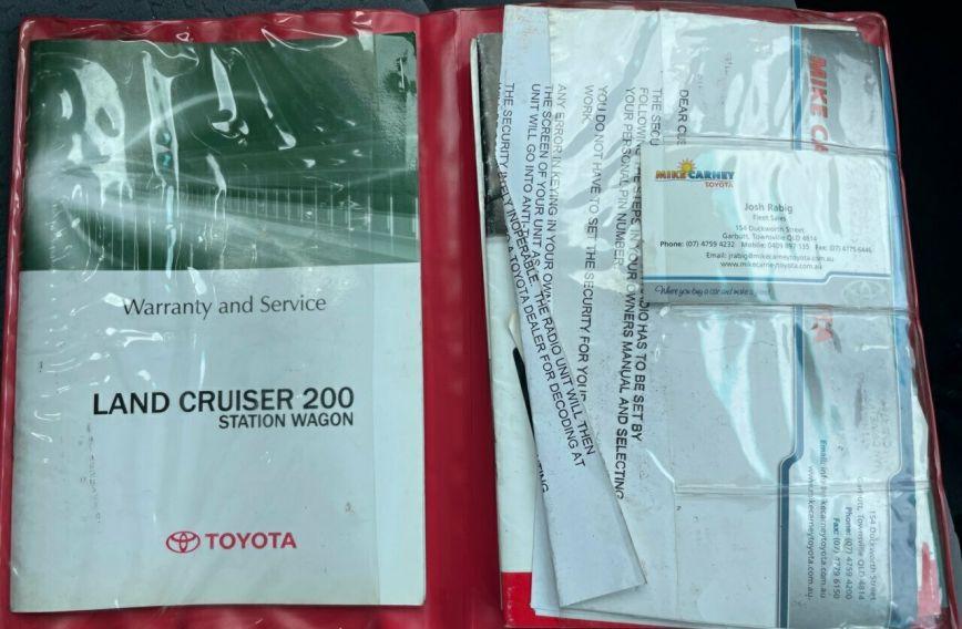 2008 TOYOTA LANDCRUISER GXL  VDJ200R Tw.Turbo Wagon