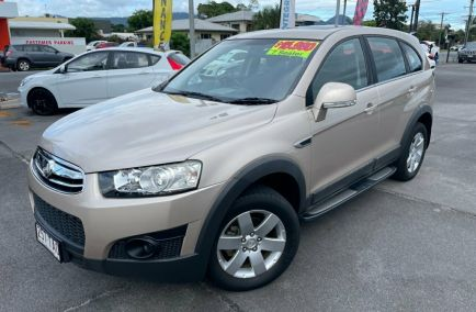 Used 2013 HOLDEN CAPTIVA CG Series II MY12 7 SX Wagon 7st 5dr Spts Auto 6sp 2.2DT (FWD)
