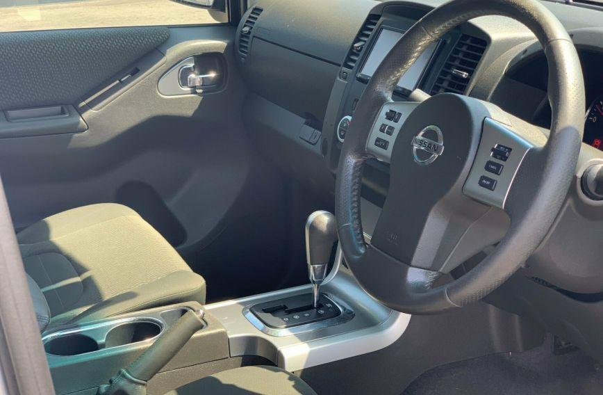 2012 NISSAN NAVARA ST-X 550 D40 S5 Turbo UTILITY Dual Cab