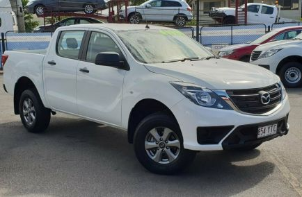 Used 2018 MAZDA BT-50 UR0YG1 Utility 4dr XT Dual Cab Spts Auto 6sp 4x4 3.2DT 1164kg