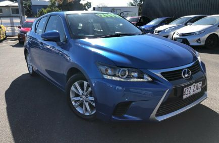 Used 2016 LEXUS CT200H ZWA10R Hatchback 5dr Sports Luxury CVT 1sp 1.8i/60kW Hybrid 380kg