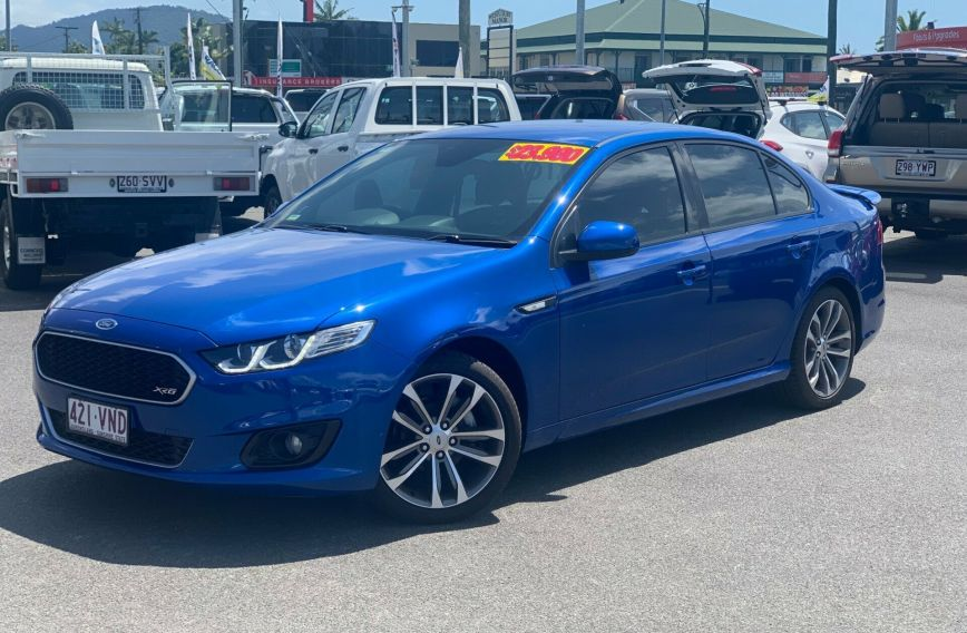 2015 FORD FALCON XR6  FG X  SEDAN