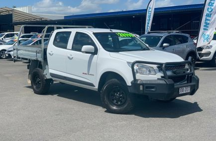 Used 2015 HOLDEN COLORADO RG Cab Chassis 4dr LS Crew Cab Spts Auto 6sp 4x4 2.8DT 1217kg