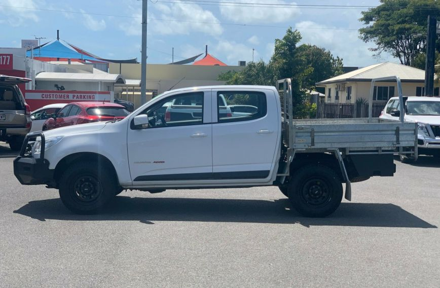 2015 HOLDEN COLORADO LS  RG Turbo CAB CHASSIS Dual Cab