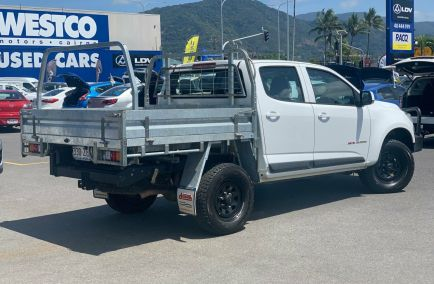 2015 HOLDEN COLORADO LS  RG Turbo Dual Cab Chassis Utility