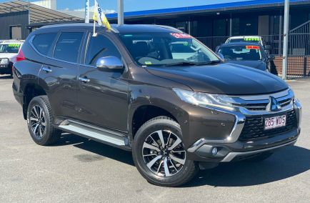 Used 2015 MITSUBISHI PAJERO SPORT QE Wagon 5dr Exceed Spts Auto 8sp 4x4 2.4DT 640kg